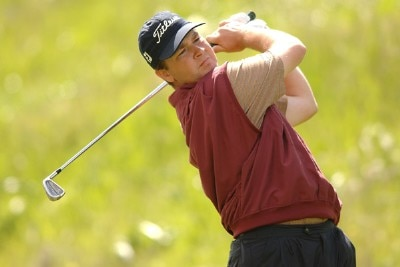 Hunter Haas in action during the third round of the Nationwide TOUR's 2006 Livermore Valley Wine Country Championship at The Course at Wente Vineyards in Livermore, California April 1, 2006.Photo by Steve Grayson/WireImage.com