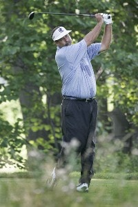 Brad Bryant during the first round of the Ford Senior Players Championship held at TPC Michigan in Dearborn, Michigan, on July 13, 2006.Photo by: Stan Badz/PGA TOUR