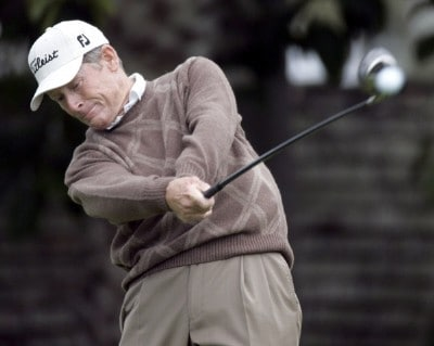 Mike Reid in action during the first round of the Toshiba Classic, March 17, 2006, held at Newport Beach Country Club, Newport Beach, California. Photo by Gregory Shamus/WireImage.com