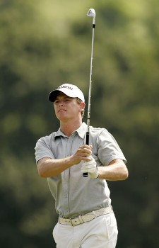 Adam groom during the third round of the 2005 Aa St Omer Open at the Aa St Omer Golf Club. June 18, 2005Photo by Pete Fontaine/WireImage.com