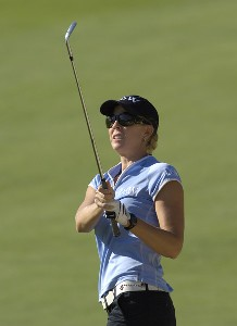 Jill McGill during the third round of  the Canadian Women's Open at the London Hunt and Country Club in London, Ontario on August 12, 2006.Photo by Steve Levin/WireImage.com