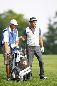 Jesper Parnevik during the second round of the Canadian Open held at Hamilton Golf and Country Club in Ancaster, Ontario, Canada, on September 8, 2006.Photo by: Stan Badz/PGA TOUR