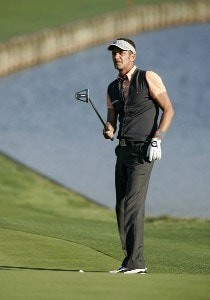 Jesper Parnevik during the second round of THE PLAYERS Championship held at the TPC Stadium Course in Ponte Vedra Beach, Florida on March 24, 2006.Photo by Stan Badz/PGA TOUR/WireImage.com