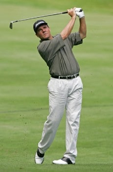 Scott Dunlap in action during the first round of the 2005 Bell Canadian Open, September 8,2005, held at Shaughnessy Golf & Country Club, Vancouver, B.C.Photo by Stan Badz/PGA TOUR/WireImage.com