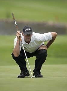 Tom Lehman during the first round of the Barclays Classic held at Westchester Country Club in Rye, New York on June 8, 2006.Photo by Chris Condon/PGA TOUR/WireImage.com