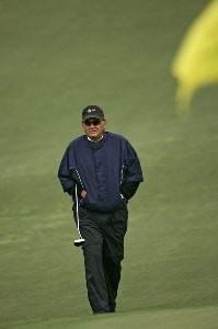Raymond Floyd during the second round of the 2007 Masters at the Augusta National Golf Club in Augusta,  Georgia, on April 6, 2007. The 2007 Masters - Second RoundPhoto by Sam Greenwood/WireImage.com