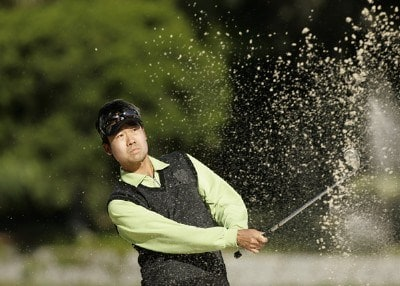 Kevin Na during the final round of the Verizon Heritage Classic at the Harbour Town Golf Links in Hilton Head, South Carolina on April 16, 2007 Photo by Michael Cohen/WireImage.com