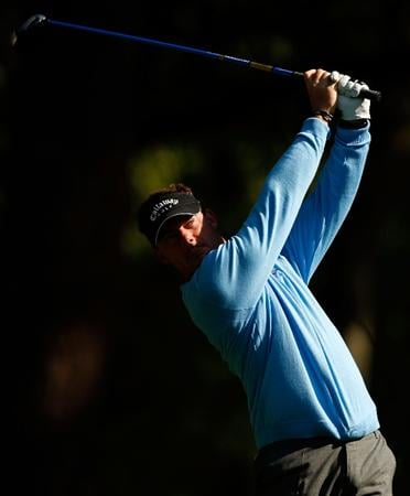 HILTON HEAD ISLAND, SC - APRIL 16:  Alex Cejka of Germany watches his tee shot on the 11th hole during the first round of the Verizon Heritage at Harbour Town Golf Links on April 16, 2009 in Hilton Head Island, South Carolina.  (Photo by Streeter Lecka/Getty Images)