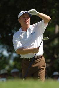 Jeff Sluman during first round of the Bank of America Colonial held at the Colonial Country Club on Monday, May 18, 2006 in Ft. Worth, TexasPhoto by Marc Feldman/WireImage.com