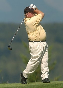 Craig Stadler in action during the championship round of the 2005 Boeing Greater Seattle Classic at TPC at Snoqualmie Ridge in Snoqualmie, Washington August 21, 2005.Photo by Steve Grayson/WireImage.com