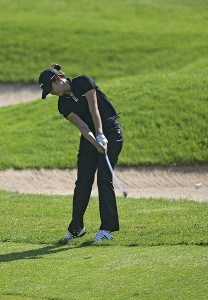 Hee-Won Han  during the first round of the 2006 Sybase Classic at Wygakyl Country Club in  New Rochelle, New York on May 18, 2006.Photo by Michael Cohen/WireImage.com