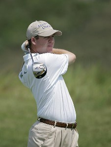 Joe Ogilvie during the third round of the John Deere Classic at TPC at Deere Run in Silvis, Illinois on July 15, 2006.