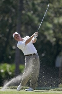 Joe Durant during the first round of the Chrysler Championship at the Westin Innisbrook Resort on the Copperhead Course in Palm Harbor, Florida on October 26, 2006. PGA TOUR - 2006 Chrysler Championship - First RoundPhoto by Michael Cohen/WireImage.com