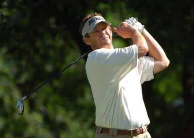 Lee Janzen during first round of the Bank of America Colonial held at the Colonial Country Club on Monday, May 18, 2006 in Ft. Worth, TexasPhoto by Marc Feldman/WireImage.com
