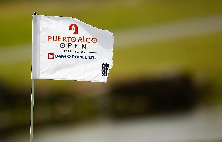 RIO GRANDE, PUERTO RICO - MARCH 20:  A flag during the first round of the Puerto Rico Open presented by Banco Popular held on March 20, 2008 at Coco Beach Golf & Country Club in Rio Grande, Puerto Rico.  (Photo by Mike Ehrmann/Getty Images)
