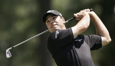Arron Oberholser during the final round of the 2007 Wachovia Championship held at Quail Hollow Country Club in Charlotte, North Carolina on May 6, 2007. PGA TOUR - 2007 Wachovia Championship - Final RoundPhoto by Sam Greenwood/WireImage.com
