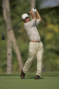 Ben Crenshaw in action during the first round of the 2006 Mastercard Championship  at Hualalai resort,  Kona, Hawaii. January 20,2006Photo by: Chris Condon/PGA TOUR