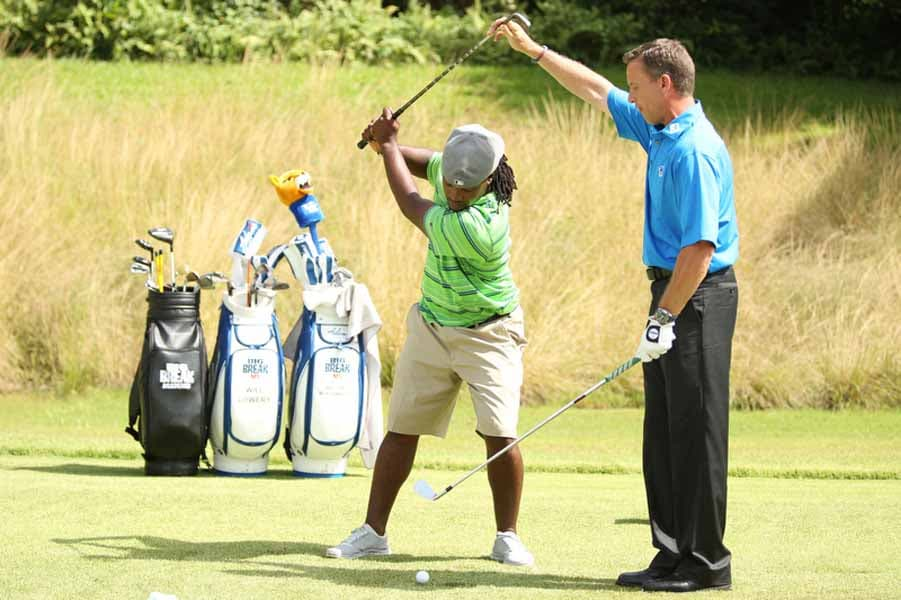 Michael Breed Instructing Will Lowery