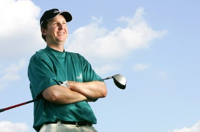 J.J. Henry during a portrait session at the 2006 WGC-Bridgestone Invitational held on the South Course at Firestone Country Club in Akron, Ohio, on August 22, 2006.Photo by Sam Greenwood/WireImage.com