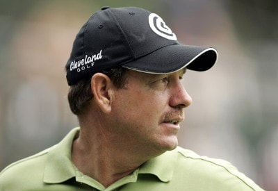 Bart Bryant during practice for the PGA Championship held at Medinah Country Club in Medinah, Illinois, on August 14, 2006.Photo by Hunter Martin/WireImage.com