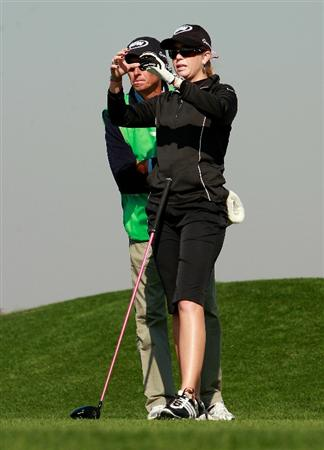 INCHEON, SOUTH KOREA - OCTOBER 29:  Paula Creamer of United States on the 13th hole during the 2010 LPGA Hana Bank Championship at Sky 72 golf club on October 29, 2010 in Incheon, South Korea.  (Photo by Chung Sung-Jun/Getty Images)