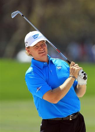 ORLANDO, FL - MARCH 23:  Ernie Els of South Africa during the pro-am as a preview for the 2011 Arnold Palmer Invitational presented by Mastercard at the Bay Hill Lodge and Country Club on March 23, 2011 in Orlando, Florida.  (Photo by David Cannon/Getty Images)