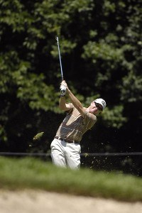 SILVIS, IL - JULY 12:  Steve Flesch during the first round of The John Deere Classic at the TPC Deere Run on July 12, 2007 in Silvis, Illinois.  (Photo by Marc Feldman/WireImage) *** Local Caption *** Steve Flesch PGA - John Deere Classic - First RoundPhoto by Marc Feldman/WireImage) *** Local Caption *** Steve Flesch