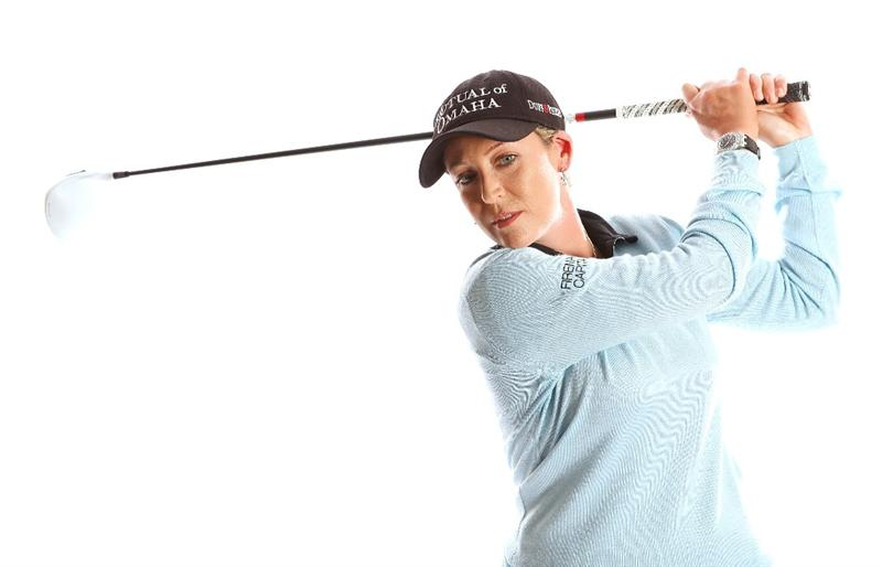 CITY OF INDUSTRY, CA - MARCH 22:  Cristie Kerr poses for a portrait on March 22, 2011 at the Industry Hills Golf Club in the City of Industry, California.  (Photo by Jonathan Ferrey/Getty Images)