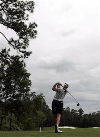 MOBILE, AL - MAY 15:  Brittany Lincicome hits her drive from the third tee during third round play in the Bell Micro LPGA Classic at the Magnolia Grove Golf Course on May 15, 2010 in Mobile, Alabama.  (Photo by Dave Martin/Getty Images)