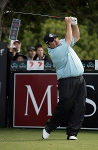 Kevin Stadler displays his prowess off the tee  during the first round of the MFS Australian Open at Royal Sydney on November 16, 2006. MFS Australian Open Golf Championship  - November 16 , 2006Photo by Don Arnold/WireImage.com