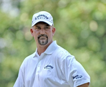 Marco Dawson during the final round of the Cialis Western Open at the Cog Hill Golf Club July 3, 2005 in Lemont, Illinois.Photo by Al Messerschmidt/WireImage.com