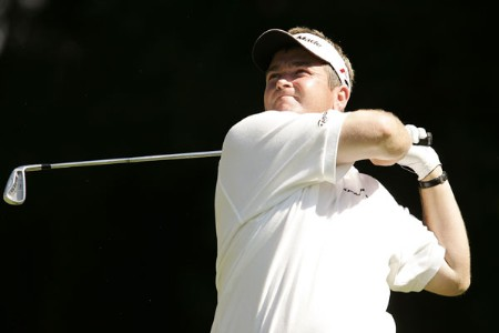 Garry Houston during the final round of the 2005 Omega European Masters at the Crans-sur-Sierre Golf Club . September 4, 2005Photo by Pete Fontaine/WireImage.com