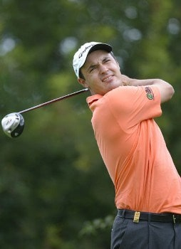 Simon Khan (GBR) during the second round of the 2005 BMW International Open at the Nord-Eichenried Golf Club in Munich, Germany on August 26, 2005.Photo by Alexanderk/WireImage.com