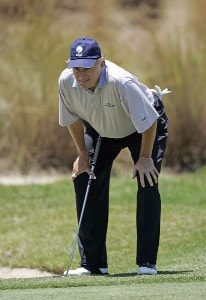 Raymond Floyd during the first round of the Boeing Championship at Sandestin at Raven Golf Club in Destin, Florida on May 12, 2006.Photo by Michael Cohen/WireImage.com