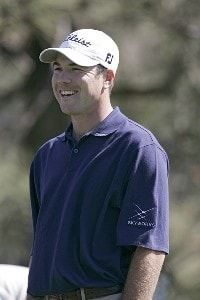 Arron Oberholser during the first round of the 2006 Accenture Match Play Championship at the La Costa Resort & Spa in Carlsbad, California on February 22, 2006.Photo by Hunter Martin/WireImage.com