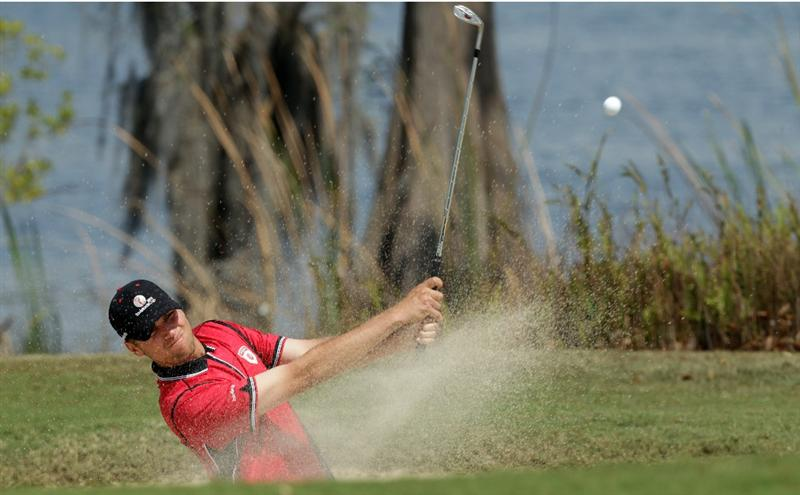 WINDERMERE, FL - MARCH 15: Sean O'Hair of the USA and the Isleworth Golf and Country Club on the 9th hole during the second day of the 2011 Tavistock Cup at Isleworth Golf and Country Club on March 15, 2011 in Windermere, Florida.  (Photo by David Cannon/Getty Images)