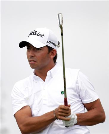 BARCELONA, SPAIN - MAY 08:  Pablo Larrazabal of Spain during the final round of the Open de Espana at the Real Club de Golf El Prat on May 8 , 2011 in Barcelona, Spain.  (Photo by Ross Kinnaird/Getty Images)