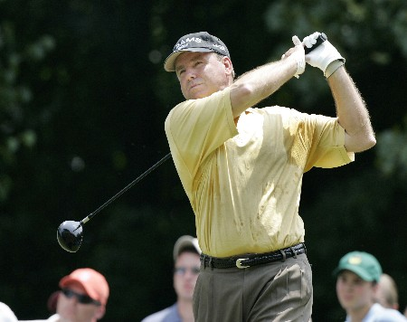 D.A. Weibring in action during the final round of the Bruno's Memorial Classic, May 22,2005, held at Greystone GC, Birmingham, Al.Photo by Stan Badz/PGA TOUR/WireImage.com