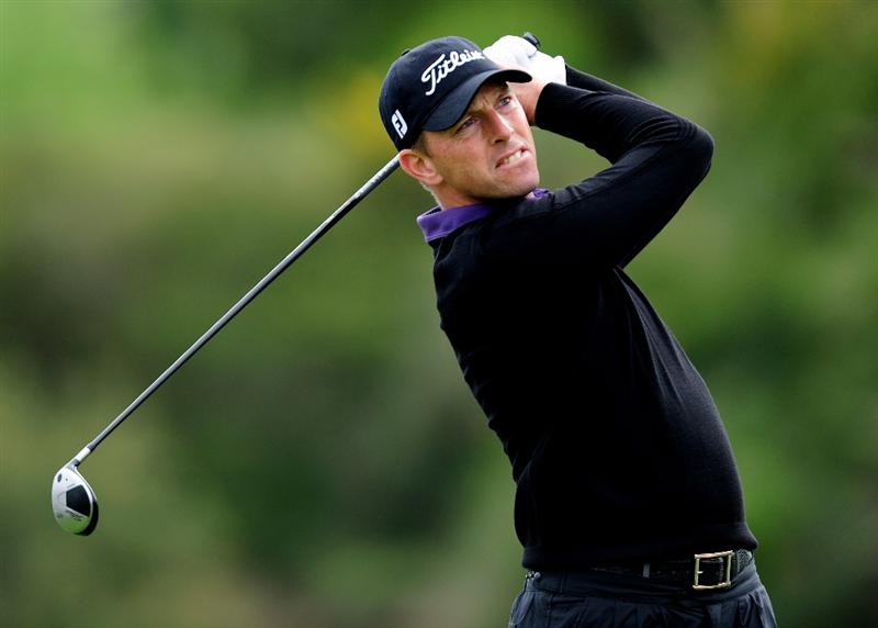 MALLORCA, SPAIN - MAY 14:  Soren Hansen of Denmark plays his tee shot on the sixth hole during the second round of the Open Cala Millor Mallorca at Pula golf club on May 14, 2010 in Mallorca, Spain.  (Photo by Stuart Franklin/Getty Images)