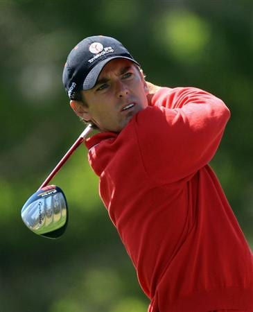 ORLANDO, FL - MARCH 23:  Charles Howell III of the USA and the Isleworth Team watches his tee shot on the 3rd hole during the second day's play in the 2010 Tavistock Cup, at the Isleworth Golf and Country Club on March 23, 2010 in Orlando, Florida.  (Photo by David Cannon/Getty Images)