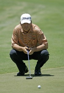 David Eger during the first round of the Boeing Championship at Sandestin at Raven Golf Club in Destin, Florida on May 12, 2006.Photo by Michael Cohen/WireImage.com
