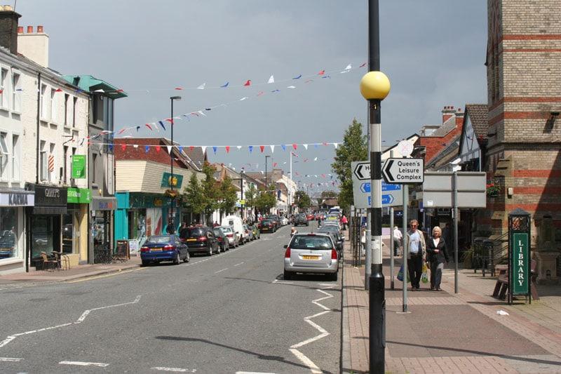 Downtown Holywood, Northern Ireland