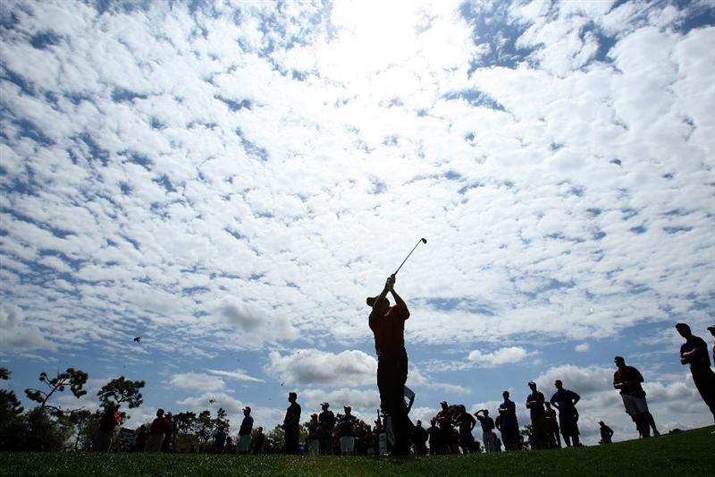 ORLANDO, FL - MARCH 17:  Daniel Chopra of Sweden and the Lake Nona Team hits a second shot during the second day of the 2009 Tavistock Cup at the Lake Nona Golf and Country Club, on March 17, 2009 in Orlando, Florida  (Photo by David Cannon/Getty Images)