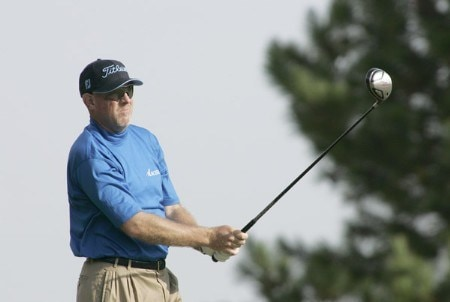 Frank Lickliter II in action during the second round of the Southern Farm Bureau Classic at Annandale Golf Club in Madison, Mississippi on November 4, 2005.Photo by Michael Cohen/WireImage.com