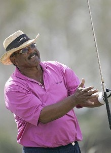 Jim Thorpe during the first round of the ACE Group Classic held at the TwinEagles GC in Naples, Florida on February 17, 2006.Photo by Sam Greenwood/WireImage.com