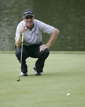 Greg Owen during the first round of the 2005 PGA Championship at Baltusrol Golf Club in Springfield, New Jersey on August 11, 2005.Photo by Christopher Condon/WireImage.com