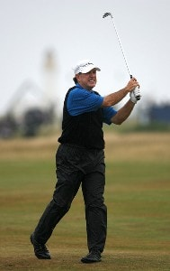 Gil Morgan (US) during the third round of the 2006 Senior British Open Championship at The Westin Turnberry Resort in Ayrshire, Scotland on Saturday, July 29, 2006.Photo by Matthew Harris/WireImage.com