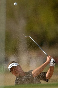Michael Allen in action during the second round of the PGA's Tour 2005 Chrysler Classic of Tucson at the Omni Tucson National Golf Resort & Spa February 25, 2005 in Tuscon, Arizona.