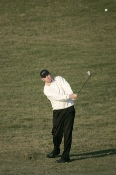 Troy Matteson during the second round of the Nationwide Tour Championship held  on the Senator course at Capitol Hill GC in Prattville, Alabama on Friday, October 28, 2005.Photo by Sam Greenwood/WireImage.com