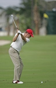 Jason Bohn competes in the second round of the Ford Championship at Doral held on the Blue Course at Doral Golf Resort and Spa, in Doral, Florida, on March 3, 2006.Photo by: Chris Condon/PGA TOUR